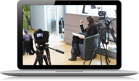 Interview vidéo